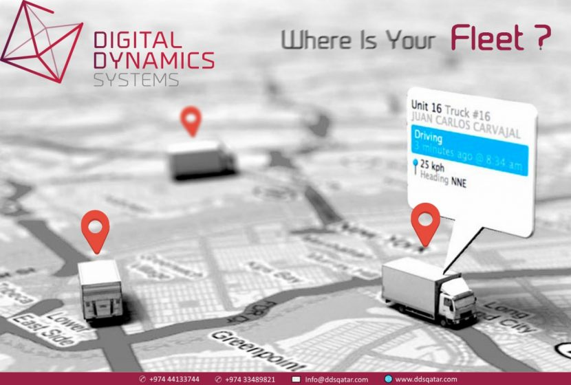 GPS Vehicle Tracking System professionals - DDS Qatar
